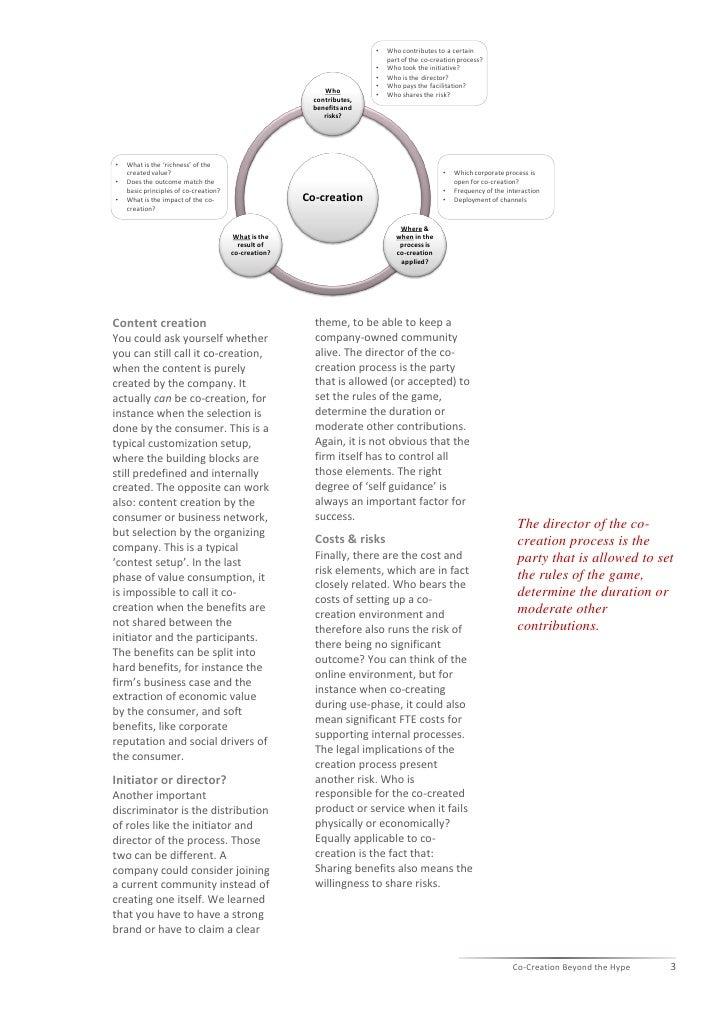 Co creation beyond the hype global survey Slide 3