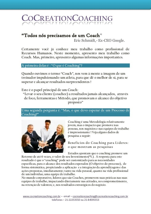 www.cocreationcoaching.com.br – email – cocreationcoaching@cocreationcoaching.com.br telefones – 21-22253550 ou 21-8459555...