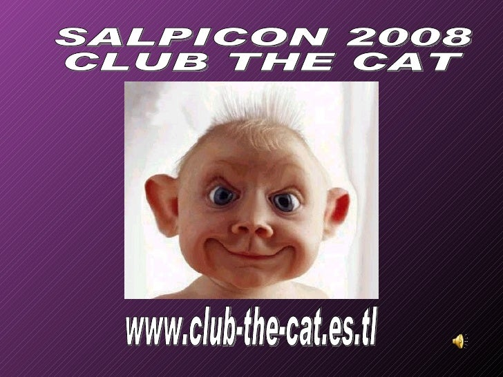 www.club-the-cat.es.tl SALPICON 2008 CLUB THE CAT