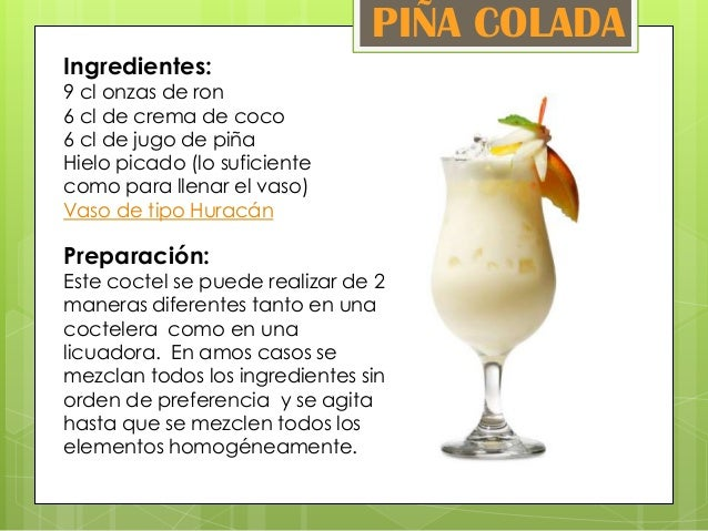 Cocteles ron - Coctel de marisco ingredientes ...