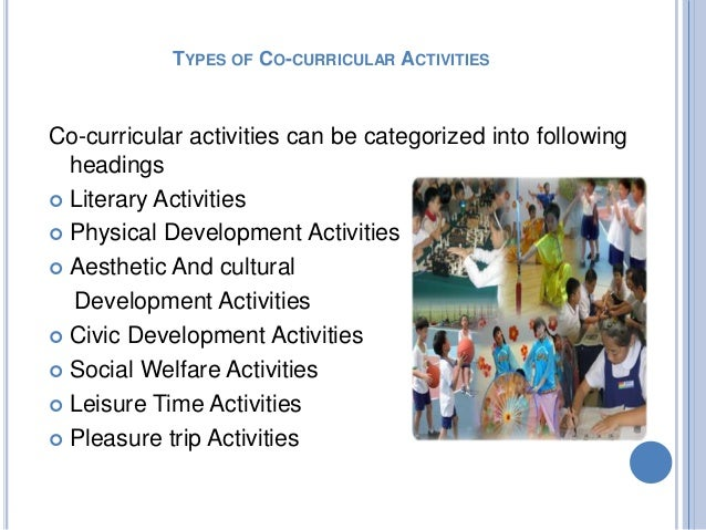 advantages and disadvantages of co curricular Get involved: the many benefits of co-curricular activities by kelsey joronen and betsy danforth as students complete their college careens, the.