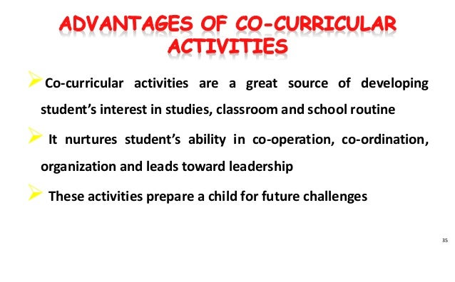 debate on co-curricular activities are a waste of time