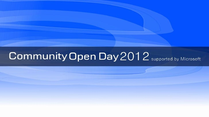 COD2012 大阪 グローバルコミュニケーション基盤としてのSharePoint