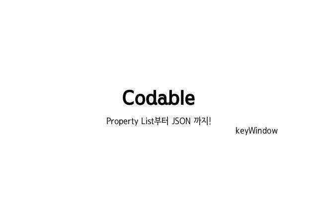 codable swift