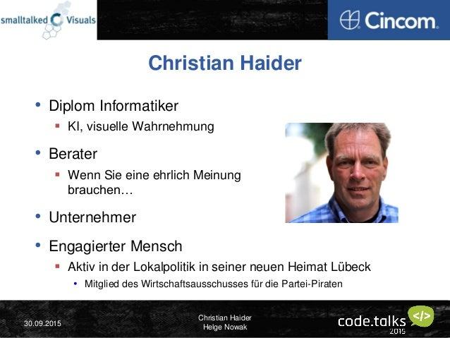 Christian Haider & Helge Nowak - Mehr Demokratie durch Haushaltstransparenz im Internet - code.talks 2015 Slide 2