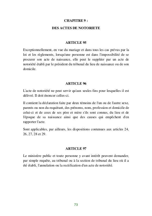 Code Civil 1 Ivoirien 2016
