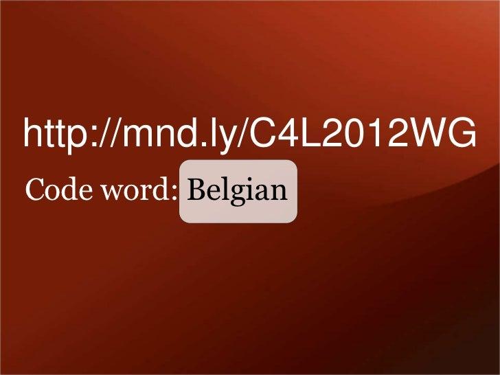 Code4 lib2012