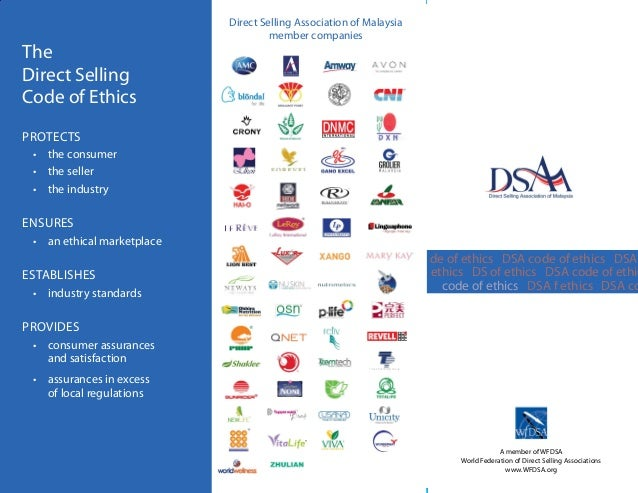 Direct selling association companies