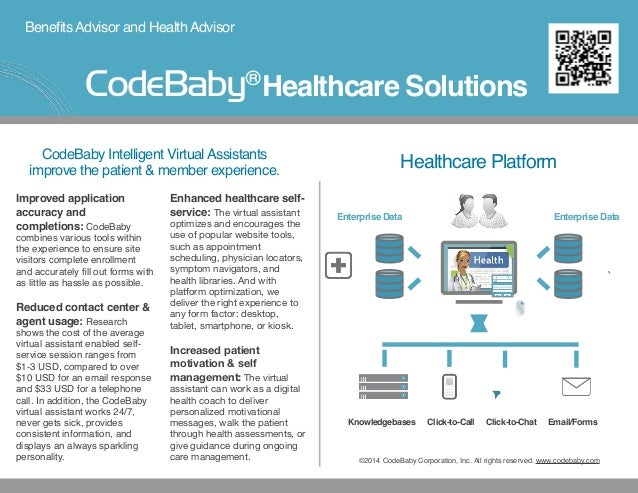 BenefitsAdvisor and HealthAdvisor Improved application accuracy and completions: CodeBaby combines various tools within th...