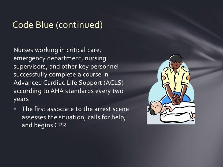 Code blue Slide 2