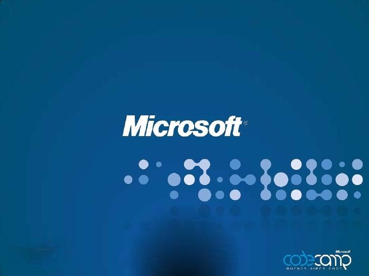 [Code Camp 2009] SMSE y el Datacenter de tus sueños - Parte 1 (Alberto Ortega + Martín Berra + Leandro Amore)