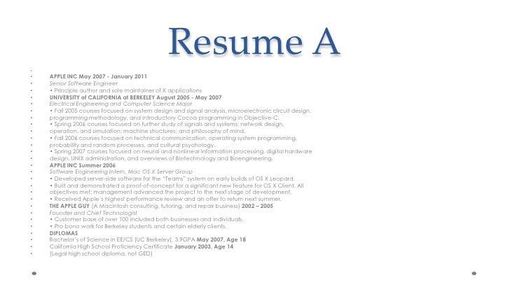 Perfect Resume ...