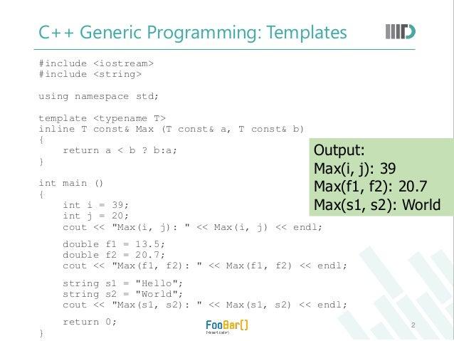STL in C++