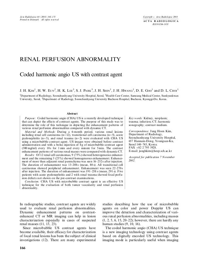 Acta Radiologica 44 (2003) 166±171                                                               Copyright   #   Acta Radi...
