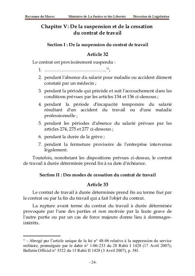 code du travail contrat de travail