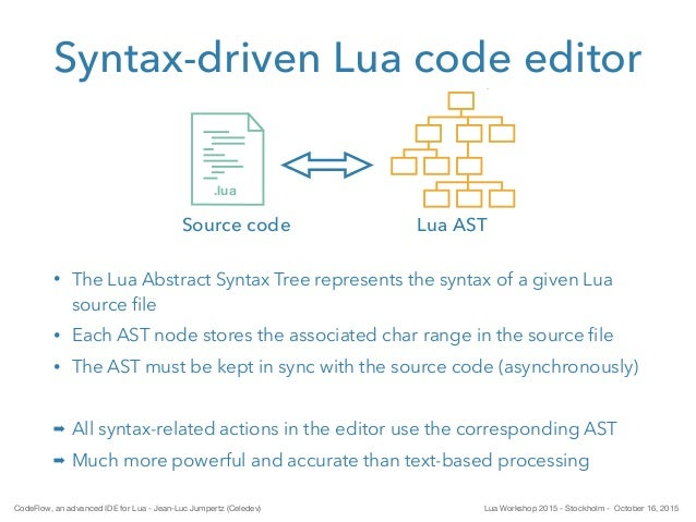 CodeFlow, an advanced IDE for Lua