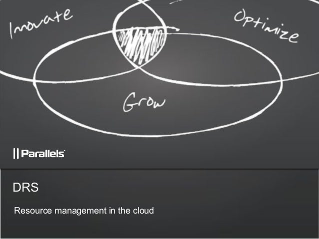 Resource management in the cloud DRS