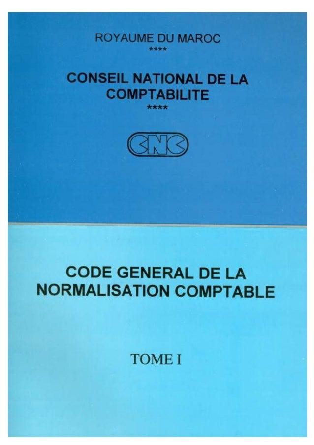 Code general de_la_normalisation_comptable