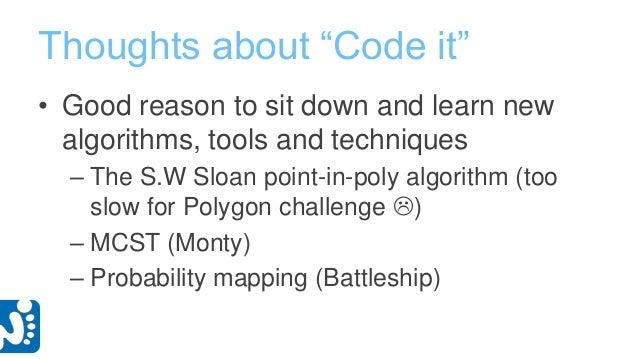 Aaalto ES CodeIt 2013 - Ultimate Tic-tac-toe submission slides