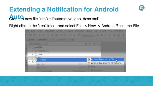 Codelab - Android Auto notifications