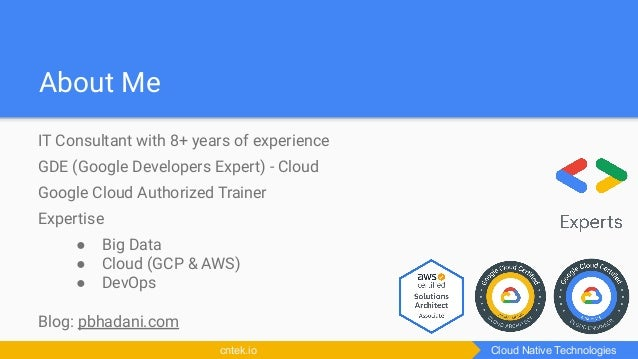 Access GCP services securely using service accounts and Cloud IAM Roles Slide 2