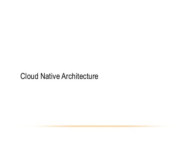 architecting for the cloud using netflixoss