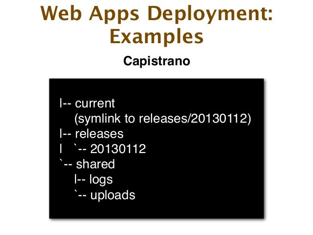 Rock Solid Deployment of Web Applications