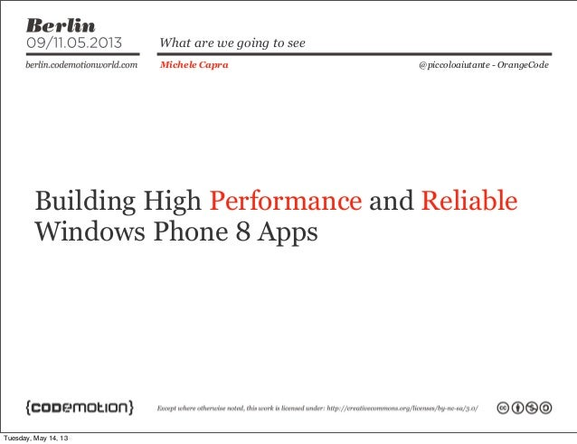 Building high performance and reliable windows phone 8 apps for High performance windows