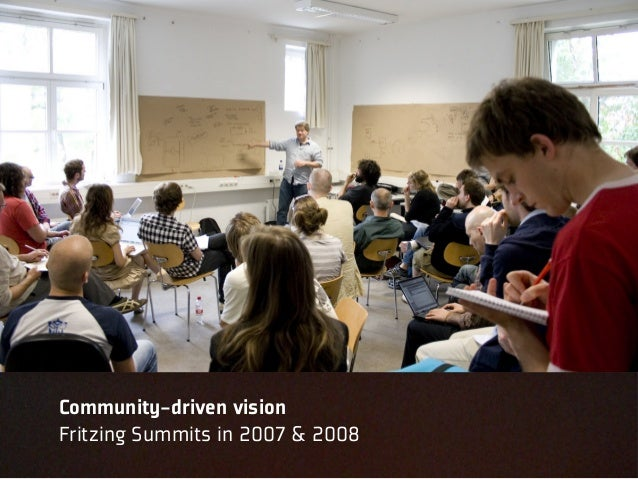 Community-driven visionFritzing Summits in 2007 & 2008