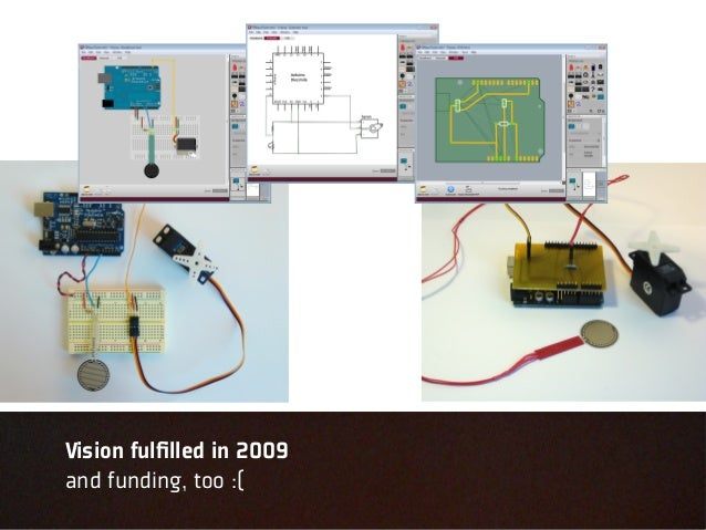 Vision fulfilled in 2009and funding, too :(