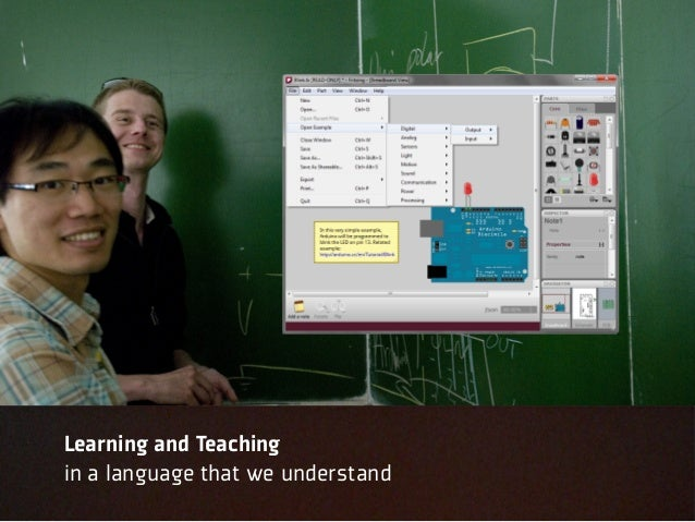 Learning and Teachingin a language that we understand