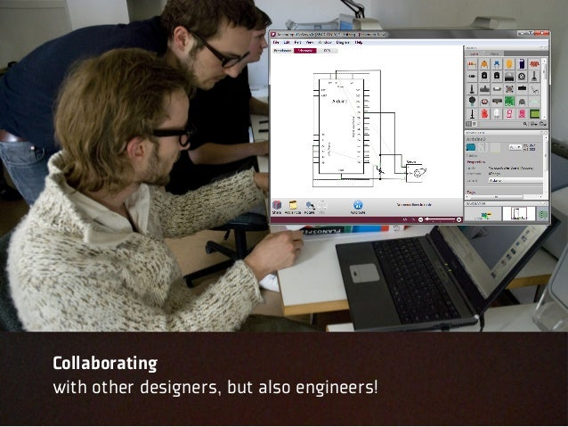 Collaboratingwith other designers, but also engineers!
