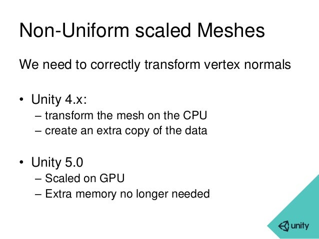 Unity - Internals: memory and performance