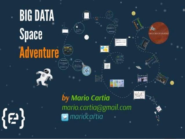 Hands On Big Data: Getting Started With NoSQL And Hadoop Mario Cartia mario@big-data.ninja