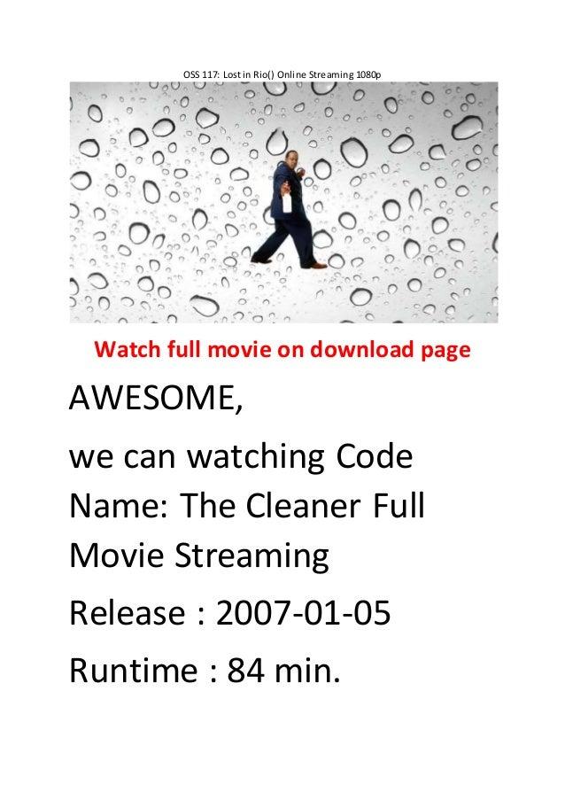 code name cleaner full movie