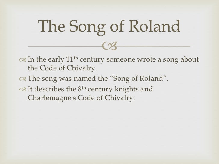 song of roland essay questions Wo works that use the theme of father-son relationships are beowulf and the song of roland questions for the debate of a comparative essay on never cry.