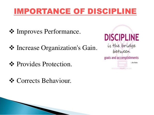 an introduction to the importance of self discipline The importance of self - discipline the one key and essential ingredient that is  required to succeed in wrestling is self discipline we talk often at practice about.