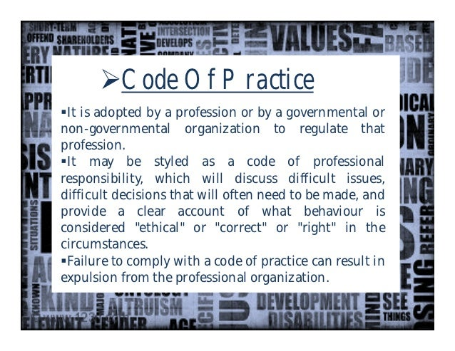 Code of ethics for fashion industry 43