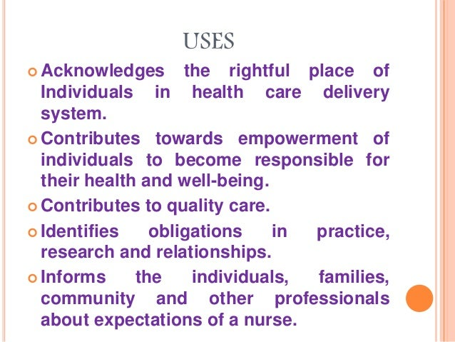 Goals and Principles for Ethical Conduct