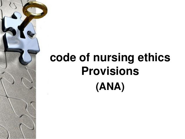 View the Code of Ethics for Nurses