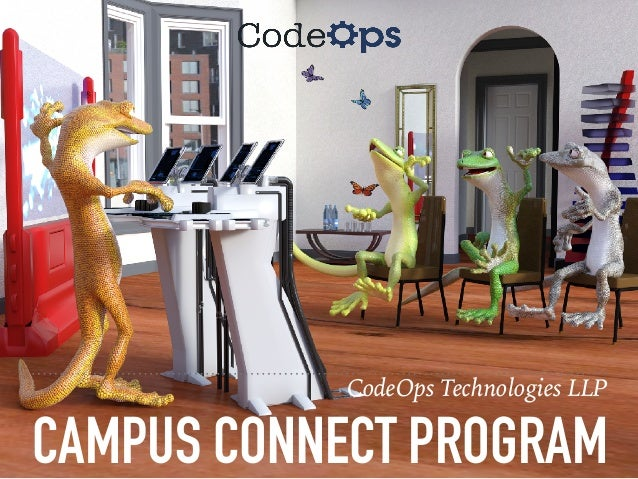 CodeOps Campus Connect Program