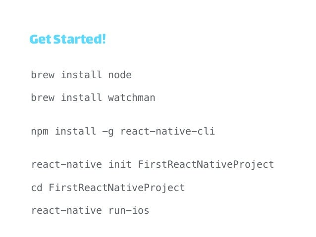 React Native ( CoderConf3 )