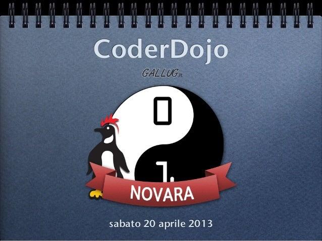 CoderDojosabato 20 aprile 2013
