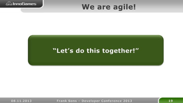 Code Reviews - developer conference 2013