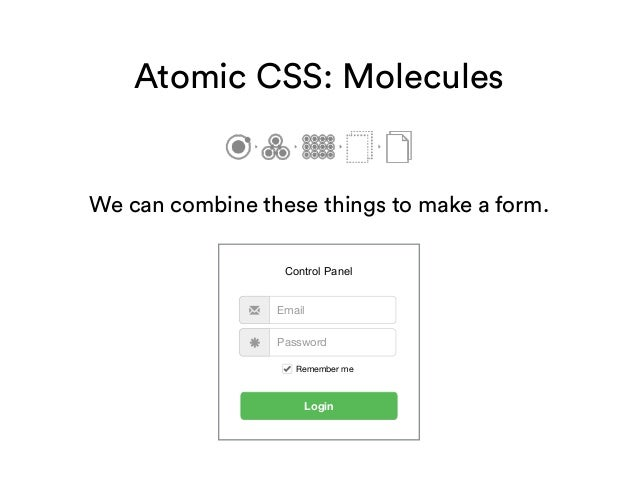 Scalable Front End Architecture With Bootstrap 3 Atomic Css