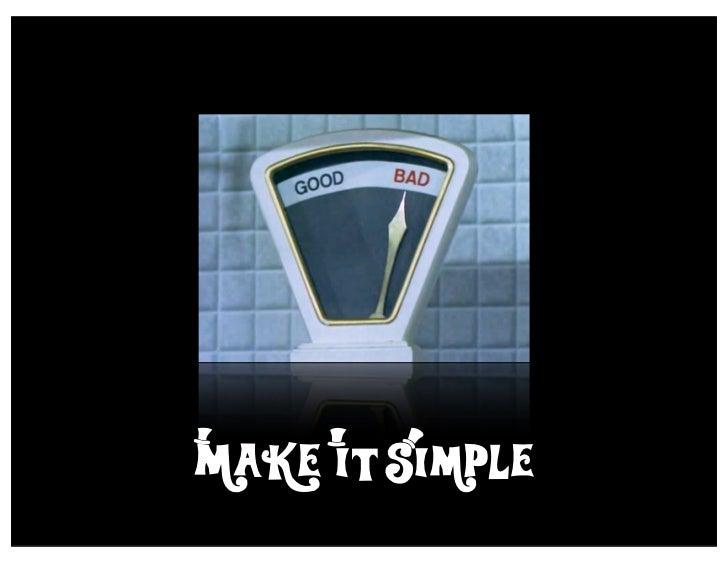 Make i*t Simple