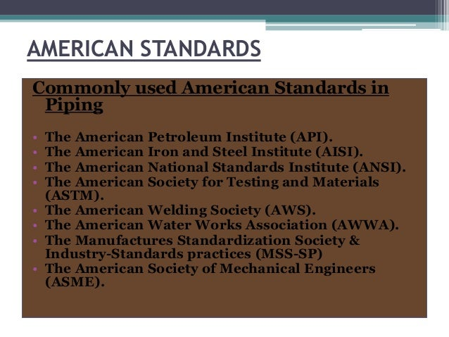 piping codes standards and specifications pdf