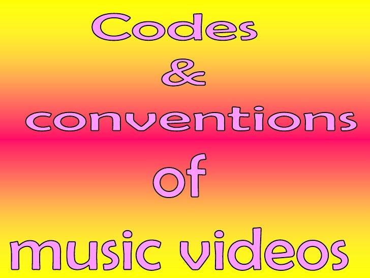 Music videos contain different storylines and meanings, which are portrayed through various ways: Performance-where the b...