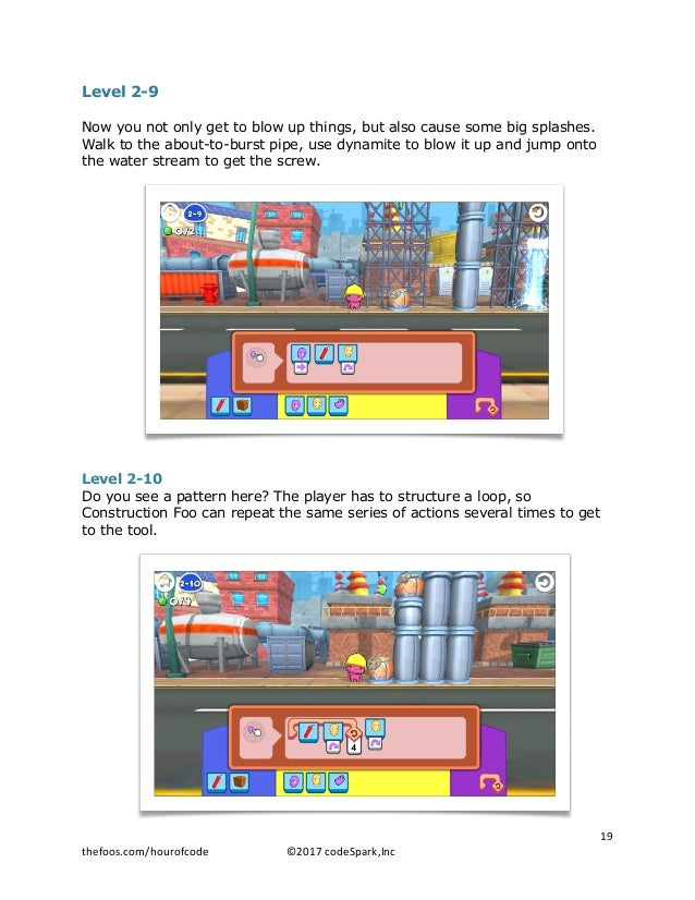 Level 2-9 Now you not only get to blow up things, but also cause some big splashes. Walk to the about-to-burst pipe, use d...