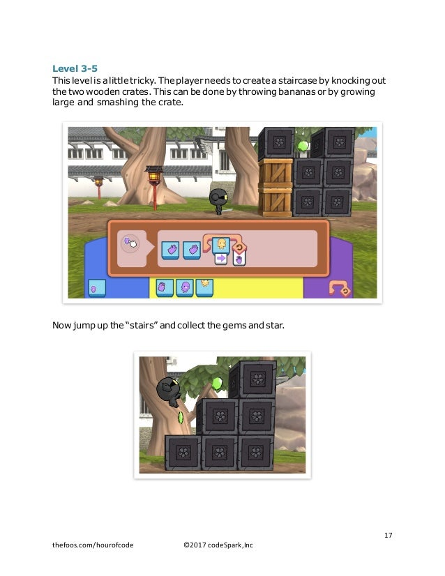 Level 3-5 This level is a little tricky. The player needs to create a staircase by knocking out the two wooden crates. Thi...